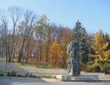 Park Sanok Autumn Harcerski Plac