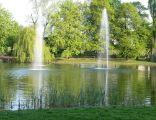 Racibórz Park im. Miasta Roth - staw i fontanny