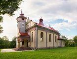Piątkowa, kościół panorama