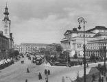 Plac Teatralny w Warszawie, 1925