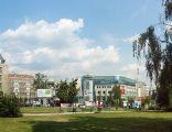 Poznań, Plac Wiosny Ludów, widok od zachodu