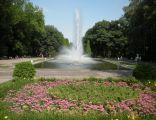 Białystok - Fontanna w parku Planty (2010)