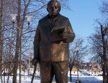 Pomnik Jerzego Ziętka w Parku Powstańców Śląskich