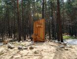 Monument to the Memory of the Holocaust of the Romani (Gypsies), Borzęcin village, Brzesko County, Lesser Poland Voivodeship, Poland