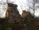Ruiny kościoła z połowy XVII wieku w Rzęskowie