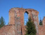 Wocławy - ruiny kościoła