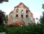 Górne, ruiny kościoła ewangelickiego