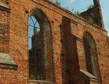 Ostaszewo, rozvaliny kostela II