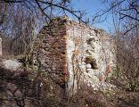 Ruiny wieży zamkowej w Szczebrzeszynie
