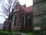 Ziębice - kościół św. Jerzego (od strony południowej)