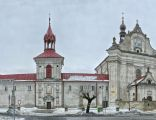 Panorama kościoła w Krasnobrodzie