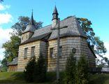 Wooden church in Cmolas, Poland 02