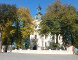 Kościół par. p.w. Marii Magdaleny (1759-66) Ogrodzenie z bramkami, Serniki (luksus n) 01
