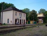 Rudy - Stacja kolejki wąskotorowej
