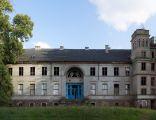 Elewacja frontowa, pałac w Sosnach (1835), gm. Witnica, woj. lubuskie.