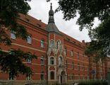StJohn Grande Hospital (Merciful Brother's Order), 1898-1901, designed by arch. Teodor Talowski, 3-11 Trynitarska street, Kazimierz, Krakow, Poland