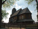 St. Matthias wooden church, Trzebicko, Poland