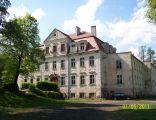 Baroque palace in Twardogóra, Poland