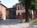 Wejście do muzeum w Tychach