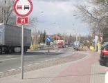 Droga krajowa nr 91 w Pruszczu