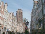 Poland Gdansk - Piwna street