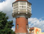 Historic water tower in Lubin