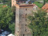 Wieża wodociągowa, widok z Wieży Radziejowskiego, Frombork