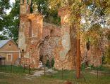 Mielnik ruiny kościoła zamkowego