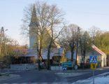 Bukowiec - widok na kościół.