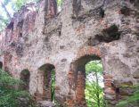 Rybnica, ruiny zamku
