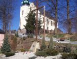 Wojcieszyce, kościół pw. św. Barbary.