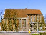 Poznań, kościół Bożego Ciała, widok od pd