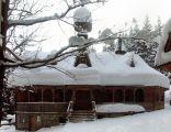 Sanktuarium Maryjne na Wiktorówkach - zimą