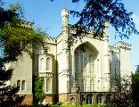 Zamek w Kórniku - fasada ogrodowa