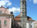 Bolesałwiec, wieża ratusza, widok od strony wschodniej