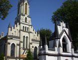 Kościół pw. Niepokalanego Poczęcia NMP z roku 1905 w Starej Kornicy