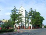 Kościół św. Floriana na rynku w Brwinowie