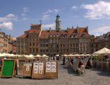 Rynek Starego Miasta w Warszawie, Strona Zakrzewskiego (Zamkowa)