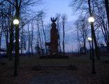 Pomnik upamiętniający bitwę pod Iganiami