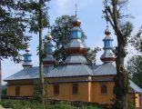 Cerkiew prawosławna w Komańczy (odbudowana)