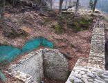 Fragment murów Zamku Pienińskiego