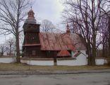 Zabytkowy kościół w Skrzydlnej