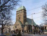 Szczecin - Kościół Najświętszego Serca Pana Jezusa na Placu Zwycięstwa