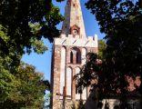 Wieża kościoła w Koszewie