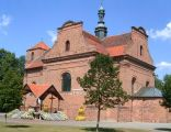 Wieleń Zaobrzański, późnobarokowy kościół Narodzenia NMP
