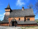 Drewniany kościół gotycki św. Michała Archanioła w Dębnie