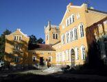 Jegławki. Pałac neogotycki z poł. XIX w.