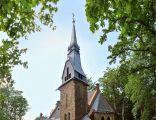 Dąbrowica-kościół pod wezwaniem Matki Boskiej Częstochowskiej