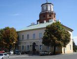 Brama Krakowska i Ratusz w Wieluniu