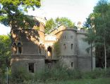 Bytom Miechowice. Ruina zamku wybudowanego w latach 1812-1817